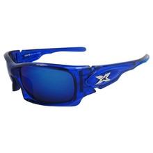 Blauwe Motor Zonnebril