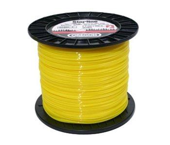 Oregon maaidraad Yellow Roundline op rol   60, 70, 90, 130, 140, 180, 240, 260, 280, 360 en 520 meter rollen