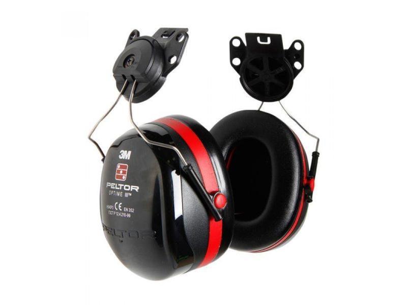 Peltor Optime 3 oorkappen voor bevestiging op helm