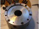 Sold: Emco 3 jaw self centering scroll chuck 200mm