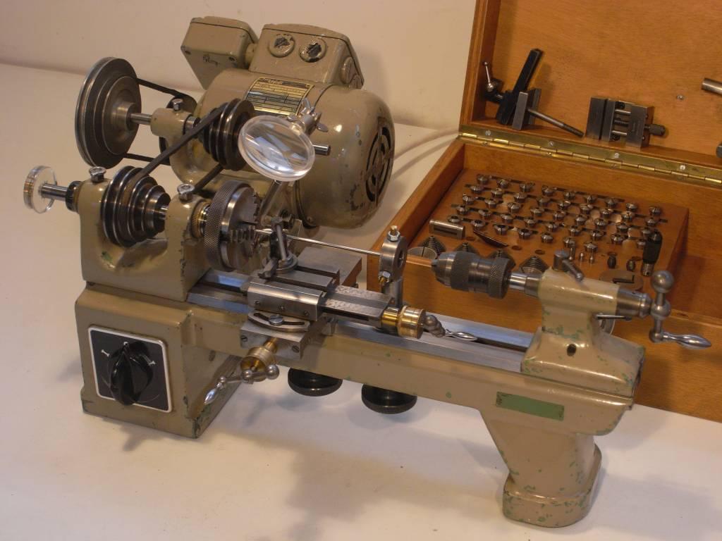 Lorch Kd 50 Miniature Precision Lathe Niels Machines