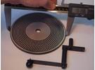 Emco Unimat 3 Uhrmacher Teilscheibe 152mm