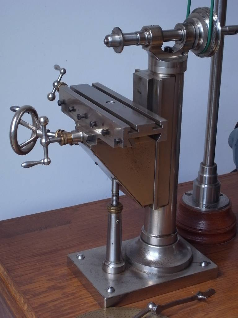 rare and antique watchmaker milling machine with wheel cutting attachment niels machines. Black Bedroom Furniture Sets. Home Design Ideas