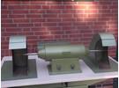 J Schmalz Poliertisch Poliereinheit mit dobbelmotor und Absaugung