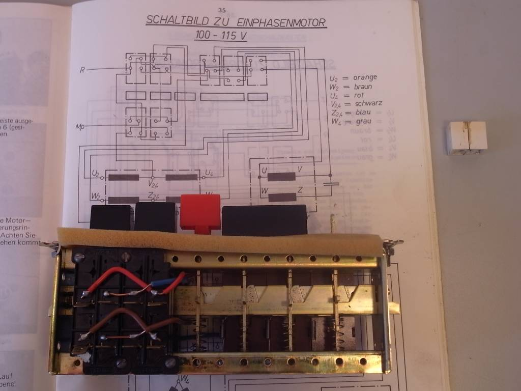 Emco Emcomat Maximat Push Button Switch 1 Ph Niels Machines Electrical Wiring