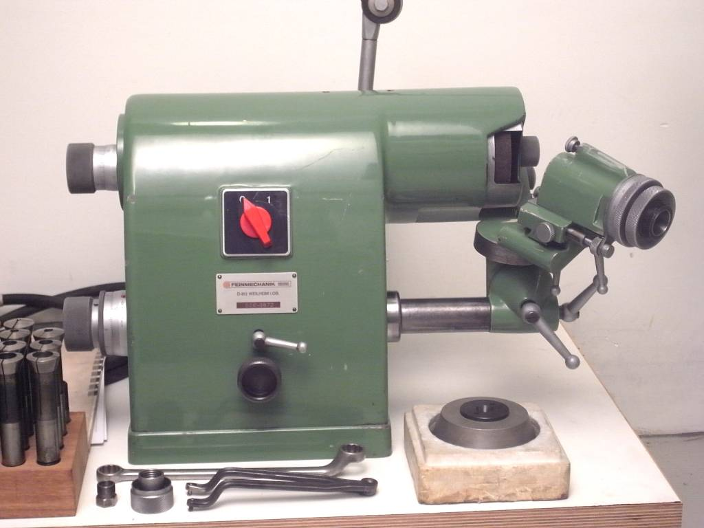 Tool And Cutter Grinder ~ Michael deckel soe tool and cutter grinder niels machines
