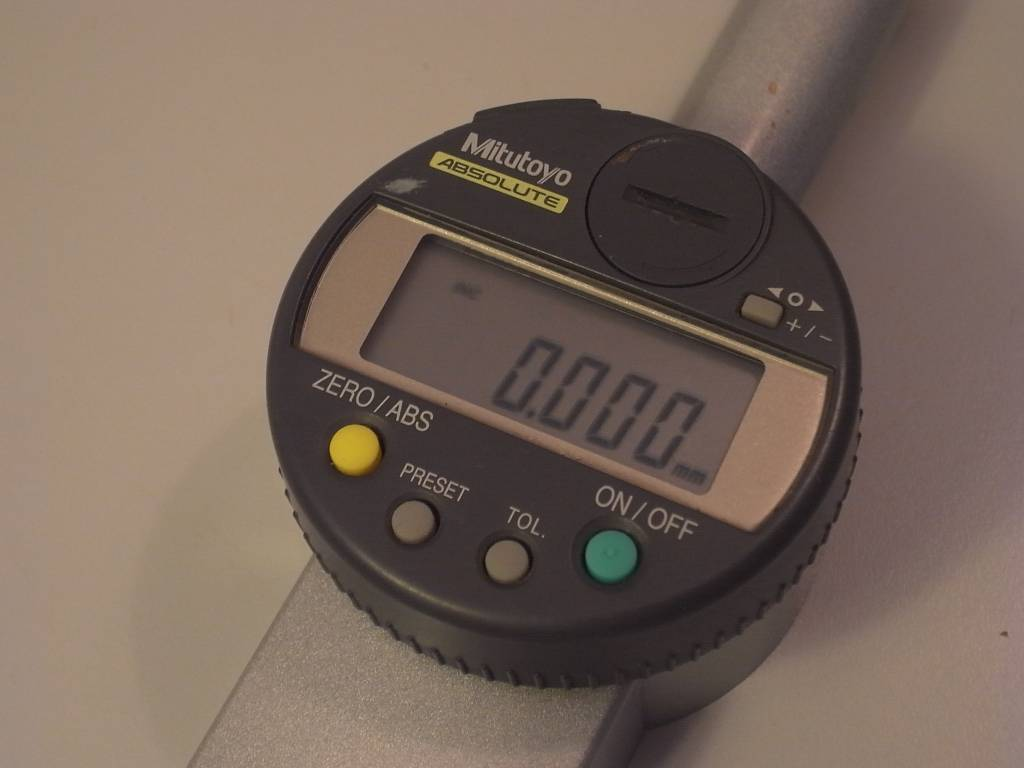 Digital Indicator Parts : Mitutoyo b digital indicator mm niels machines