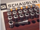 Schaublin 70 W12 Spannzangen Satz 0.5-10mm 20 Stück