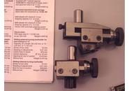 Schaublin 70 Einstellbarer Stahlhalter zum Aussendrehen und Eine zum Innendrehen