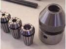 Emco Unimat 3 Zubehör : ER16 Spannzangenvorrichtung und Spannzangen Rego Fix