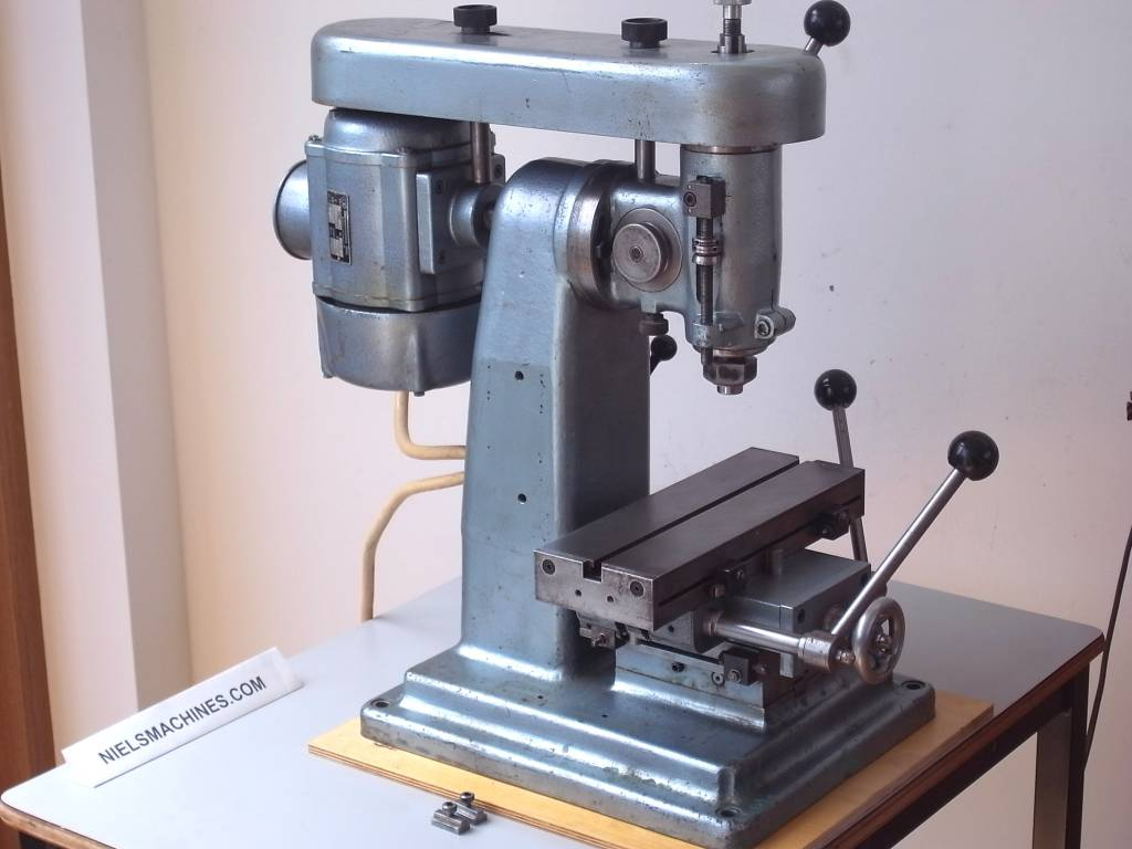 watchmaker milling machine takes b8 collets niels machines. Black Bedroom Furniture Sets. Home Design Ideas