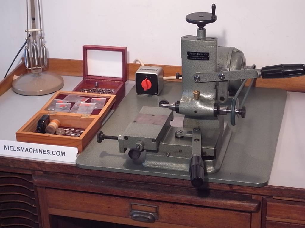 Sold jean greub precision watchmaker milling machine 6mm for Motor machine shop near me