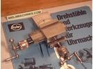 Verkauft: Boley Leinen Kreuztisch für ø8mm Uhrmacher Drehbank Links