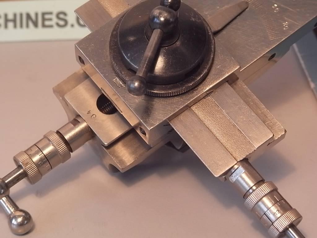 Uhrmacher  G. Boley Kreuztisch für ø8mm D-bed Uhrmacher Drehbank - Niels machines