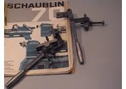 Schaublin 70 Zubehör: Handhebel für Oberschlitten und Unterschlitten des Kreuzsupportes