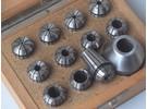 Emco Verkauft: Emco Unimat 3 Spannzangensatz 0.5-10mm Komplett und Spannzangeneinrichtung