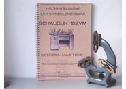 Schaublin Sold: Schaublin 102 VM Fixed steady with 3 bronze jaws