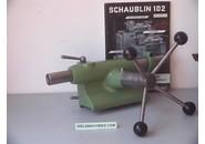 Schaublin Verkauft: Schaublin 102 W20 Bohr-Reitstöcke mit Kreuzrad