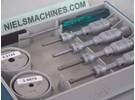 Tesa Imicro Iternal Bore Mikrometer Satz 3.5-6.5mm 0.001mm Dreipunkt