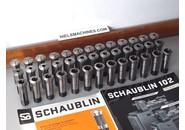 Schaublin Sold: Schaublin W20 collets 1-20mm 39 pieces