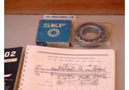 Schaublin 102 SKF 7208 AC/P4 Super Precision Hinten Spindelkopf Kugellager