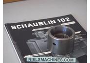 Schaublin 102 Typ W25 Spannglocken zu Stufenfutter