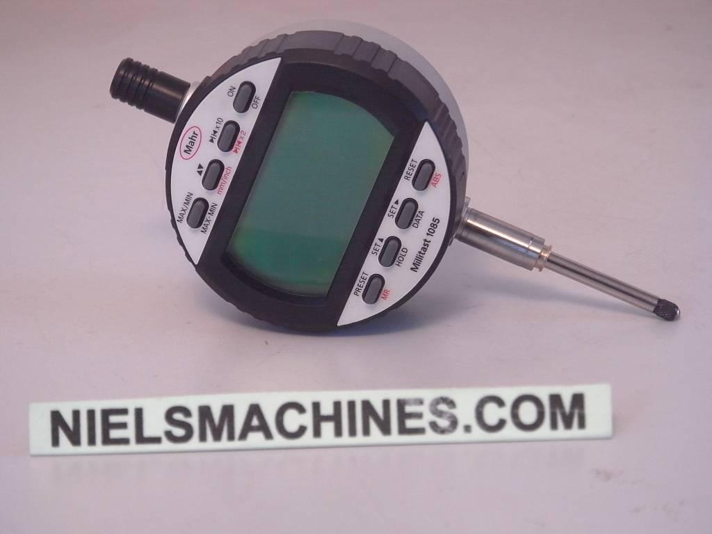 Mahr Digital Indicators : Mahr millitast digital indicator niels machines