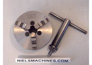 Emco Compact 5 lathe 3-jaw chuck