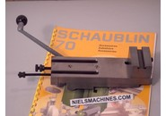 Sold: Schaublin 70 Parts: Lever-operated Cutting-off Carriage
