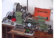 Schaublin 70 High Precision Lathe with collection accessories