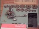 Verkauft: Lorch KD50 Gewindeschneidvorrichtung mit Support-Vorschub durch Kardanwelle