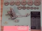 Lorch KD50 Gewindeschneidvorrichtung mit Support-Vorschub durch Kardanwelle