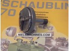 Verkauft: Schaublin 70 Pratt Burnerd Dreibackenfutter W12