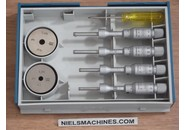 Tesa 00813409 Imicro Internal Micrometer Set 3.5-6.5mm 0.001mm