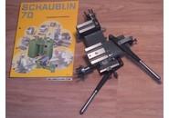 Verkauft: Schaublin 70 Kreuzsupporte mit hebel