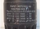 Sold: Papst Motor KG 230W, 220V