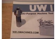 Astoba Meyer and Burger UW1 Headstock sleeve for No. 1 Morse Taper