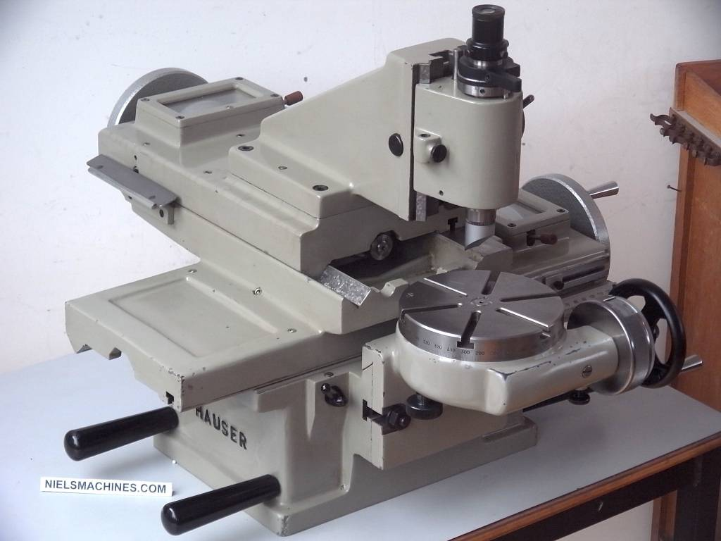 Verkauft Henri Hauser M1 Jig Borer Mit Motor Und Spindel Niels