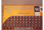 Schaublin B8 Uhrmacher ø8mm Spannzangen Satz 0.2-8mm und 44 Stück