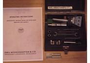 Wohlhaupter UPA2 Universal Plan und Ausdrehkopf mit Schaublin W20 und MC2 Aufnahme