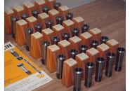 Schaublin W25 Spannzangen Satz 1-25mm 25 Stück