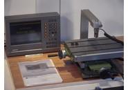 Saim cross-table with Heidenhain Positip 855 and KT 130 edge finder