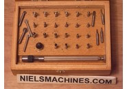 Set of Wheel Countersinks and Flat Cutters