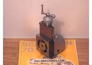 Verkauft: Schaublin 70 Fräsapparat, Verticalschlitten