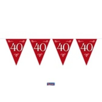 Vlaglijn 40 jaar getrouwd