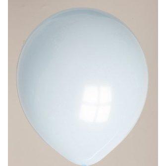 Ballon lichtblauw 25 stuks