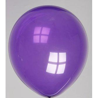 Ballon donkerpaars 100 stuks