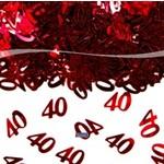 Tafelconfettie 40 jaar getrouwd