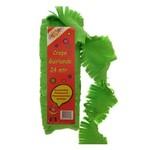 Crepe guirlande 24 m groen