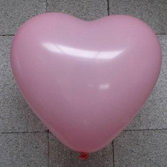 Ballon hart rose 10 inch